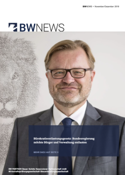 BW NEWS Nov.-Dez. 2019