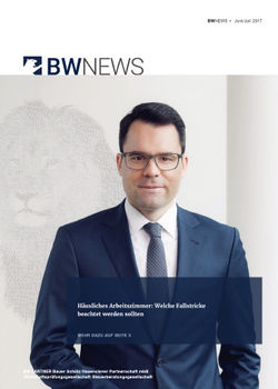 BW NEWS März-April 2019