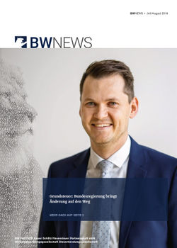 BW NEWS Juli-Aug. 2019