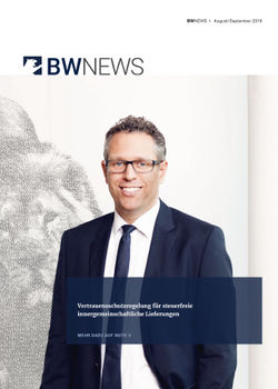 BW NEWS Aug./Sept. 2018
